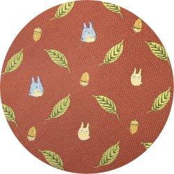 Ghibli - Chu & Sho Totoro - Necktie - Silk - Jacquard Weaving - leaf - wine - 2006 - SOLD OUT (new)