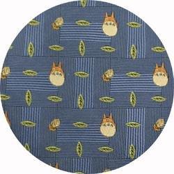 Ghibli - Totoro - Necktie - Silk - Jacquard Weaving - acron - blue - 2006 - RARE - 1 left (new)