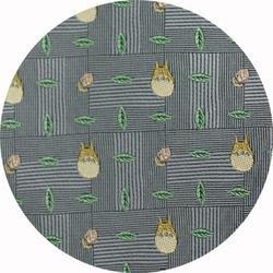 Ghibli - Totoro - Necktie - Silk - Jacquard Weaving - acorn - gray - 2006 - RARE - 1 left (new)