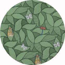 Ghibli - Totoro - Necktie - Silk - Jacquard Weaving - butterfly - green - 2006 - RARE - 1 left (new)