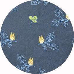 Ghibli - Totoro - Necktie - Silk - Jacquard Weaving - clover - navy - 2006 - only 1 left (new)