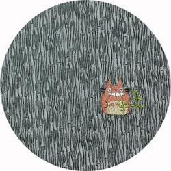 Ghibli - Totoro - Necktie - Silk - Jaquard Weaving - one point - gray - SOLD OUT (new)