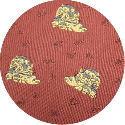 Ghibli - Totoro - Nekobus - Necktie - Silk - Jacquard Weaving - wine - 2006 - 2 left (new)
