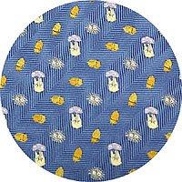 Ghibli - Sho Totoro & Kurosuke - Necktie - Silk - Jacquard Weaving - acorn - blue - SOLD OUT (new)
