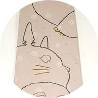 Ghibli - Totoro - Necktie - Silk - twin - pink - SOLD OUT (new)