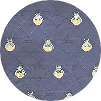 Ghibli - Totoro - Necktie - Silk - Jacquard Weaving - kaleidoscope - navy - SOLD OUT (new)