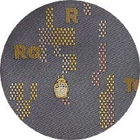 Ghibli - Totoro - Necktie - Silk - Jacquard Weaving - puzzle - gray - 1 left(new)