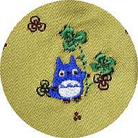Ghibli - Totoro - Necktie - Silk - Jacquard Weaving - Totoro & Clover Embroidered- SOLD OUT(new)