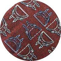 Ghibli - Totoro - Necktie - Silk - Jacquard Weaving - gradation - crimson - SOLD OUT (new)