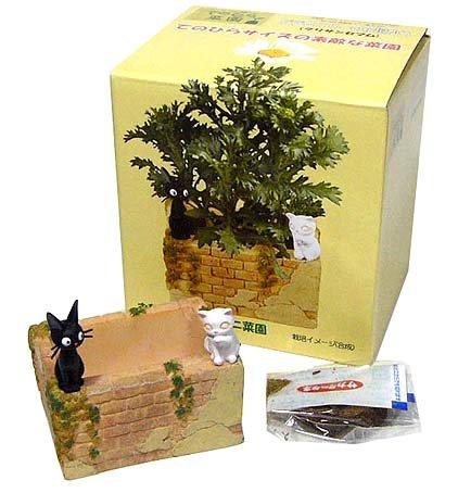 Mini Planter Pot & Seed & Soil Set-Chrysanthemum - Jiji Lily - Kiki's Delivery Service (new)