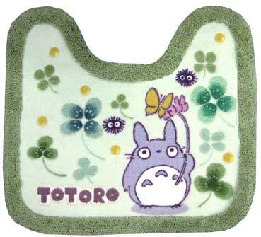 Ghibli - Totoro - Toilet Mat - green (new)