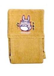 Ghibli - Totoro - Toilet Paper Holder Cover - Totoro Applique - Embroidered - orange - SOLD(new)