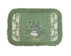 Ghibli - Totoro - Rug Mat - 45x65cm - Totoro Applique - Makkuro Embroidered - green (new)