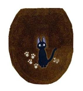 1 left - Toilet Lid Cover - regular - brown - Jiji - Kiki's Delivery Service - no production (new)