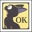 Ghibli - Kiki's Delivery Service - Jiji - Stamp - OK - 2006 (new)