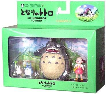 3 left - 4 Figure Set - Image Model - Totoro & Chu & Sho & Mei - no production (new)