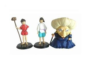 1 left- 3 Figure Set- cominica -Image Model- Sen & Haku & Yubaba - Spirited Away -no production(new)