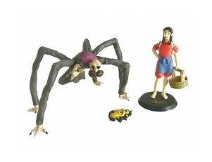 3 Figure Set- Kamaji & Susuwatari & Rin- Image Model - cominica - Spirited Away - no production(new)