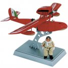 Porco Figure & Plastic Model Kit & Crew - Porco & Fio - Savoia S.21F After -Scale 1/72(new)