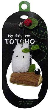 Ghibli - Sho Totoro & Kurosuke & Ladybug - Hook Strap Holder - Fluffy Mascot & Bell-stump-2006-SOLDOUT(new)