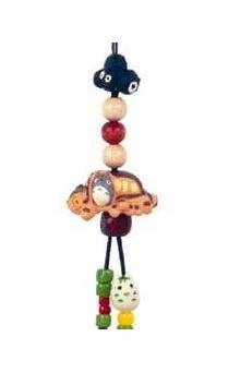Ghibli - Totoro & Nekobus & Yukinko & Kurosuke - Beads & Synthetic Leather Strap Holder (new)