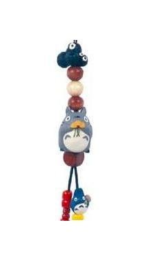 Ghibli - Totoro & Chu Totoro & Kurosuke - Beads & Synthetic Leather Strap Holder - dandelion (new)