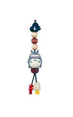 Ghibli - Totoro & Yukinko & Kurosuke - Beads & Synthetic Leather Strap Holder - smile (new)