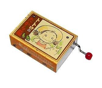 Ghibli - Sho Totoro & Mei & Kurosuke - Music Box - 2 Kurosuke inside - 2006-SOLD (new)