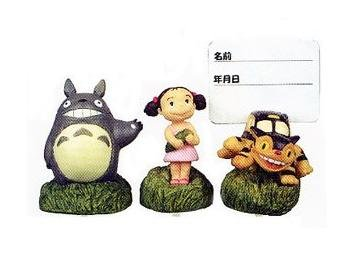 Ghibli - Totoro & Nekobus & Mei - 3 Pick Set - out of production - RARE - SOLD OUT (new)