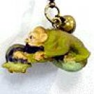 4 left - Strap Holder Holder - Netsuke Bell - Kamaji - Spirited Away - Ghibli - no production (new)