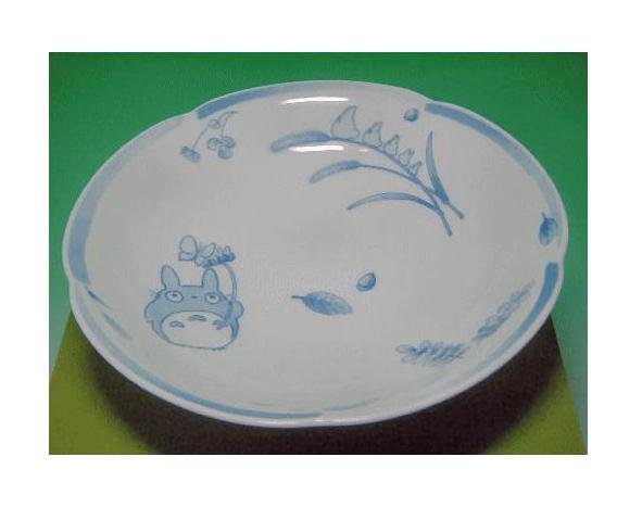 Ghibli - Totoro & Sho - Bowl Plate - White Porcelain - Noritake -out of production- SOLD OUT (new)