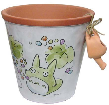 Ghibli - Totoro - Planter Pot (L) -  Watering Can - Ceramics - 2007 (new)