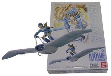 Plastic Model Kit - Scale1/20 - Nausicaa & Mowe Mehve - Ghibli - Bandai - made in Japan (new)
