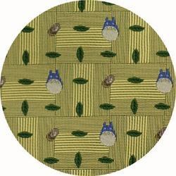 Ghibli - Totoro - Necktie - Silk - Jacquard Weaving - aorn - yellow - 2006 - RARE - 1 left (new)