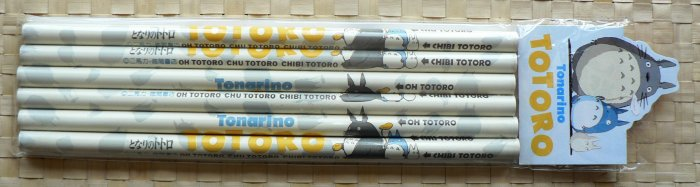 Ghibli - Totoro - 6 Pencils Set - VERY RARE - SOLD OUT (new)
