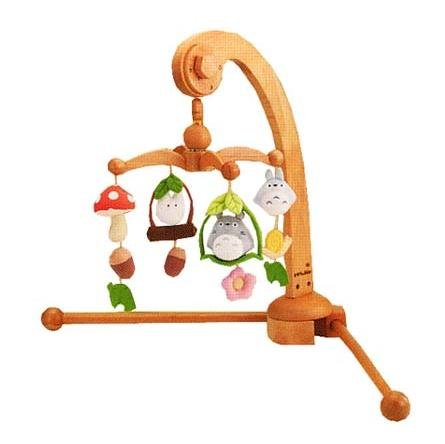 Ghibli - Totoro - Merry-go-Round - Orgel/Music Box - 2 Types (floor & bed) - Beech Tree - 2007 (new)