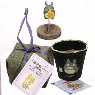 Ghibli - Totoro - Planter Pot & Pick & Seed & Soil Set - Snapdragon (new)