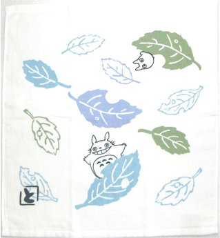 Hand Towel - 34x36cm - oikaze - Totoro - Ghibli - 2007 (new)