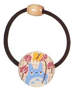 Ghibli - Chu Totoro & Butterfly - Hair Band - Ornament -weaved design-lotus flower-2007-SOLD(new)