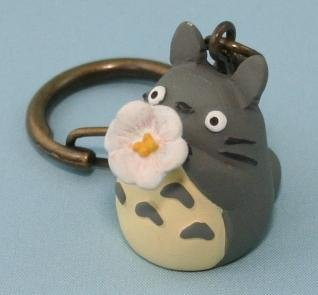 SOLD - Key Holder - flower trumpet - Totoro - Ghibli - out of production (new)
