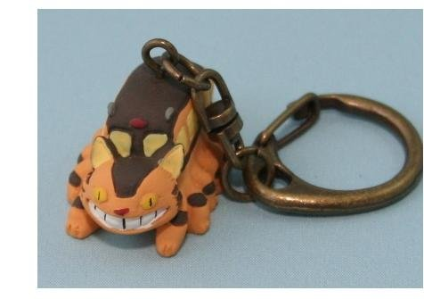 Ghibli - Totoro - Nekobus (Catbus) - Key Holder (new)