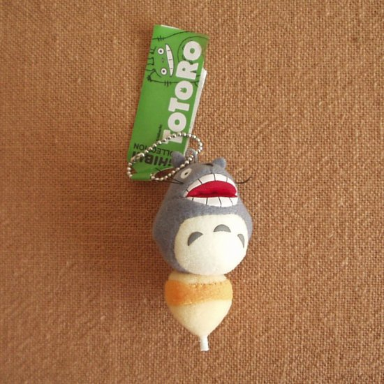 Ghibli - Totoro on Top - Chain Strap Holder - Mascot - howl  - SOLD OUT (new)