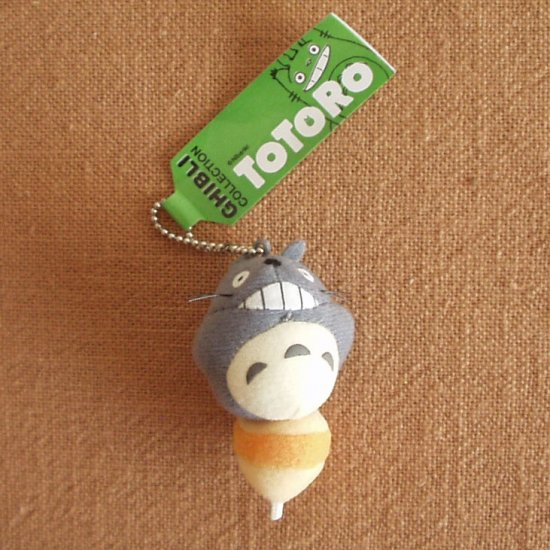 Ghibli - Totoro on Top - Chain Strap Holder - Mascot - smile - SOLD OUT (new)