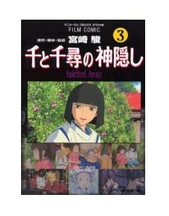 Film Comics 3 - Animage Comics Special - Japanese Book - Spirited Away - Ghibli (new)