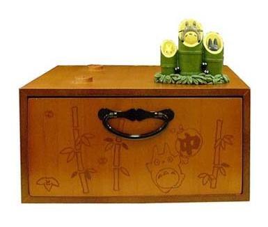 Ghibli - Totoro & Chu & Sho Totoro & Kurosuke - Drawer (M) & Ornament-2007-outproduction-SOLD(new)