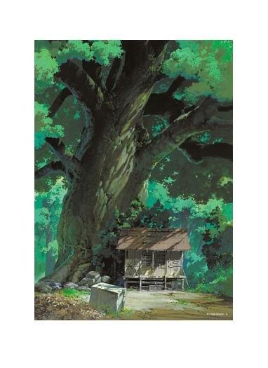 1 left- 108 pieces Jigsaw Puzzle - Oga Kazuo kusunoki to yashiro Shrine - Totoro no production (new)