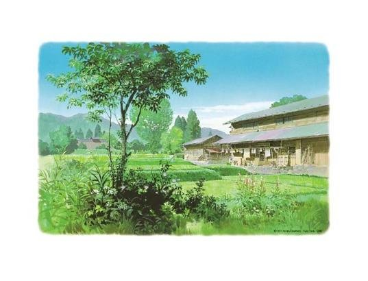 300 pieces Jigsaw Puzzle - Oga Kazuo Omoide Poroporo Only Yesterday Ghibli Ensky no production (new)
