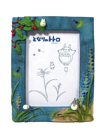 1 left - Photo Frame - Stand & Wall Hanging Type - summer - Totoro - 2007 - no production (new)