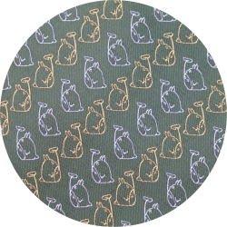 Ghibli - Totoro - Necktie - Silk - Jacquard Weaving - march - khaki - 2007 (new)