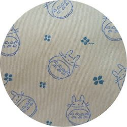 Ghibli - Totoro - Necktie - Silk - Jacquard Weaving - clover - beige - 2007 - RARE - 1 left (new)